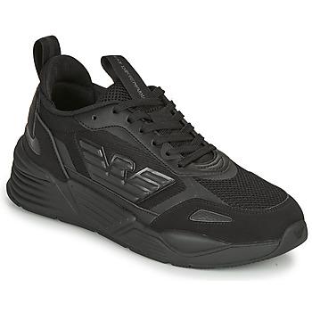 鞋子 男士 球鞋基本款 EA7 EMPORIO ARMANI  黑色