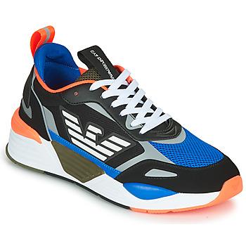 鞋子 男士 球鞋基本款 EA7 EMPORIO ARMANI XK165 黑色 / 蓝色 / 橙色