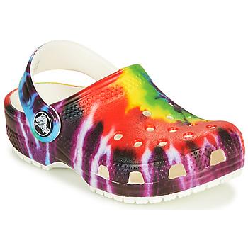 鞋子 儿童 洞洞鞋/圆头拖鞋 crocs 卡骆驰 CLASSIC TIE DYE GRAPHIC CLOG K 多彩