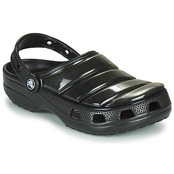 鞋子 洞洞鞋/圆头拖鞋 crocs 卡骆驰 CLASSIC NEO PUFF CLOG 黑色