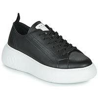 鞋子 女士 球鞋基本款 EMPORIO ARMANI EAX XCC64-XDX043 黑色