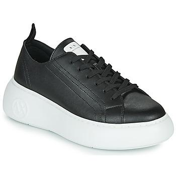 鞋子 女士 球鞋基本款 EMPORIO ARMANI EAX  黑色