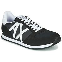鞋子 男士 球鞋基本款 EMPORIO ARMANI EAX XCC68-XUX017 黑色