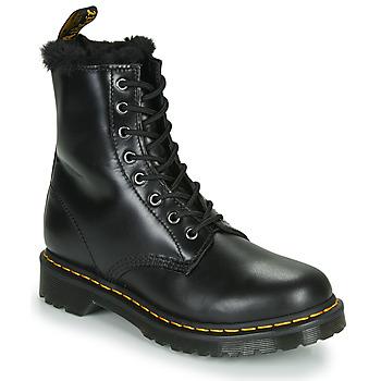 鞋子 女士 短筒靴 Dr Martens 1460 SERENA 黑色