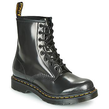 鞋子 女士 短筒靴 Dr Martens 1460 W 银灰色