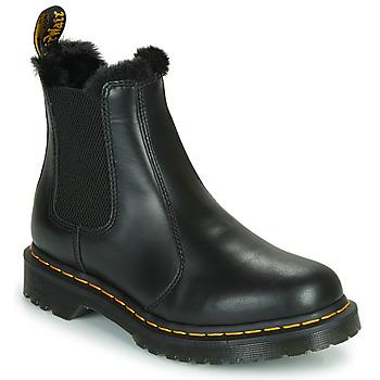 鞋子 女士 短筒靴 Dr Martens 2976 LEONORE 黑色