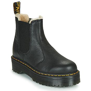 鞋子 女士 短筒靴 Dr Martens 2976 QUAD FL 黑色