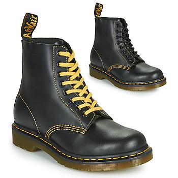 鞋子 男士 短筒靴 Dr Martens 1460 PASCAL ATLAS 黑色
