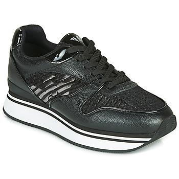 鞋子 女士 球鞋基本款 Emporio Armani  黑色