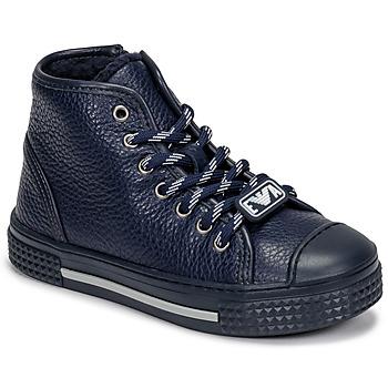 鞋子 儿童 高帮鞋 Emporio Armani XYZ004-XOI25 海蓝色