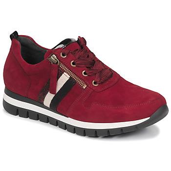 鞋子 女士 球鞋基本款 Gabor 嘉宝 5643538 红色