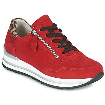 鞋子 女士 球鞋基本款 Gabor 嘉宝 5652838 红色
