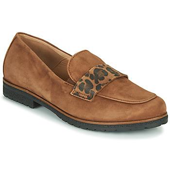 鞋子 女士 皮便鞋 Gabor 嘉宝 5243241 驼色