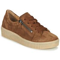 鞋子 女士 球鞋基本款 Gabor 嘉宝 5333412 驼色