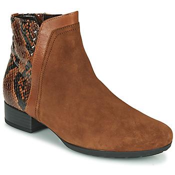 鞋子 女士 短靴 Gabor 嘉宝 5271235 驼色