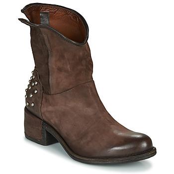 鞋子 女士 短筒靴 Airstep / A.S.98 OPEA STUDS 棕色