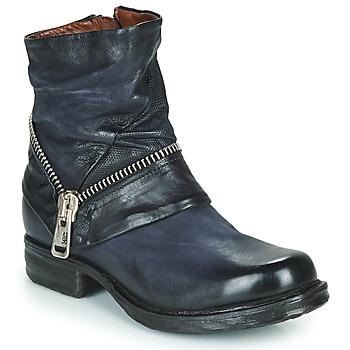 鞋子 女士 短筒靴 Airstep / A.S.98 SAINT EC ZIP NEW 蓝色