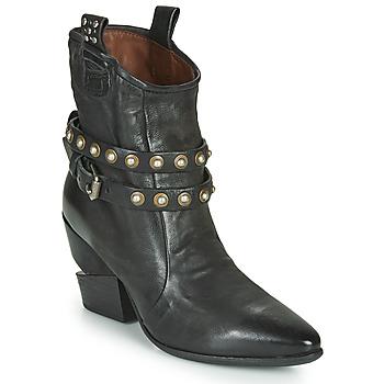 鞋子 女士 短靴 Airstep / A.S.98 TINGET BUCKLE 黑色