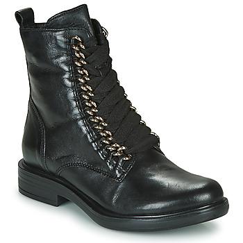 鞋子 女士 短筒靴 Mjus CAFE CHAIN 黑色
