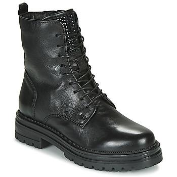 鞋子 女士 短筒靴 Mjus DOBLE LACE 黑色