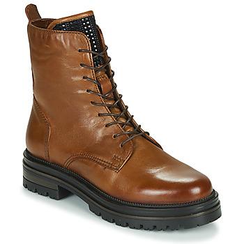 鞋子 女士 短筒靴 Mjus DOBLE LACE 棕色