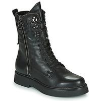 鞋子 女士 短筒靴 Mjus TRIPLE ZIP 黑色