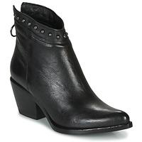 鞋子 女士 短靴 Mjus TEP 黑色