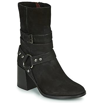 鞋子 女士 短靴 Mjus TUA BUCKLE 黑色