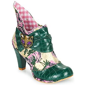 鞋子 女士 短靴 Irregular Choice MIAOW 绿色