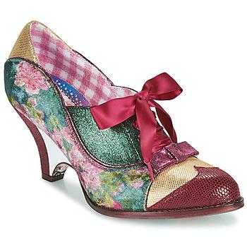 鞋子 女士 高跟鞋 Irregular Choice FORCE OF BEAUTY 波尔多红 / 绿色