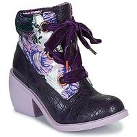 鞋子 女士 短筒靴 Irregular Choice SCARPER 紫罗兰