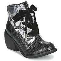 鞋子 女士 短筒靴 Irregular Choice SCARPER 黑色