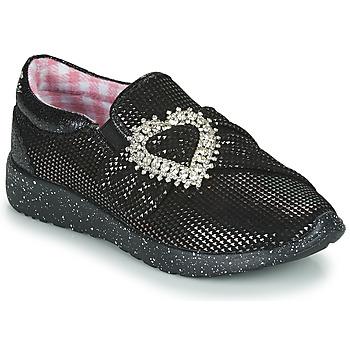 鞋子 女士 球鞋基本款 Irregular Choice TWO SHAKES 黑色