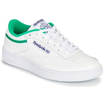 鞋子 球鞋基本款 Reebok Classic CLUB C 85 白色 / 绿色