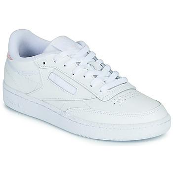 鞋子 女士 球鞋基本款 Reebok Classic CLUB C 85 白色 /  iridescent
