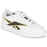 鞋子 球鞋基本款 Reebok Classic CLUB C 85 白色 / 黑色