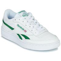 鞋子 球鞋基本款 Reebok Classic CLUB C REVENGE MU 白色 / 绿色