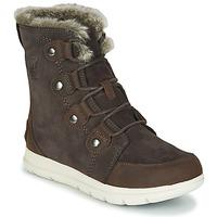 鞋子 女士 短筒靴 Sorel SOREL EXPLORER JOAN 棕色