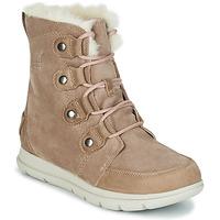 鞋子 女士 短筒靴 Sorel SOREL EXPLORER JOAN 米色