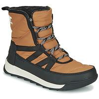 鞋子 女士 短筒靴 Sorel WHITNEY II SHORT LACE 棕色