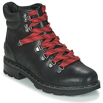 鞋子 女士 短筒靴 Sorel LENNOX HIKER 黑色