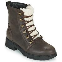 鞋子 女士 短筒靴 Sorel LENNOX LACE COZY 棕色