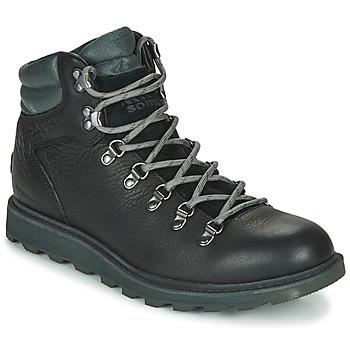 鞋子 男士 短筒靴 Sorel MADSON HIKER II WP 黑色