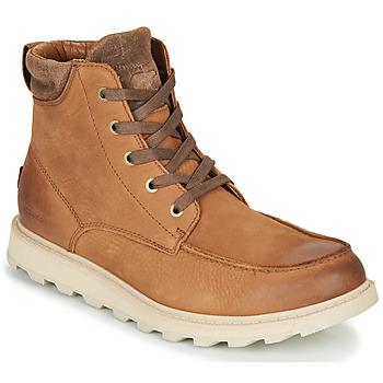 鞋子 男士 短筒靴 Sorel MADSON II MOC TOE WP 棕色