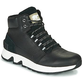鞋子 男士 高帮鞋 Sorel MAC HILL MID LTR WP 黑色