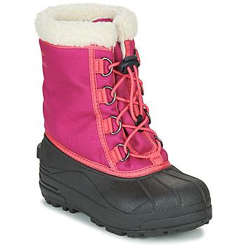 鞋子 女孩 雪地靴 Sorel YOUTH CUMBERLAND 玫瑰色