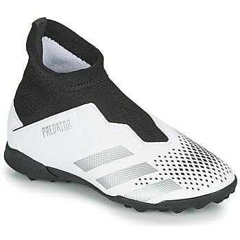 鞋子 儿童 足球 adidas Performance 阿迪达斯运动训练 PREDATOR 20.3 LL TF 白色