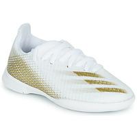 鞋子 儿童 足球 adidas Performance 阿迪达斯运动训练 X GHOSTED.3 IN J 白色