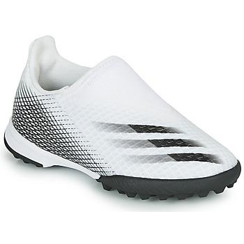 鞋子 儿童 足球 adidas Performance 阿迪达斯运动训练 X GHOSTED.3 LL TF J 白色