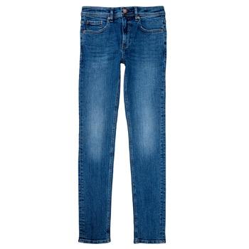 衣服 男孩 直筒牛仔裤 Teddy Smith 泰迪 史密斯 FLASH 蓝色